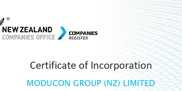 MODUCON NZ Branch was Officially Established